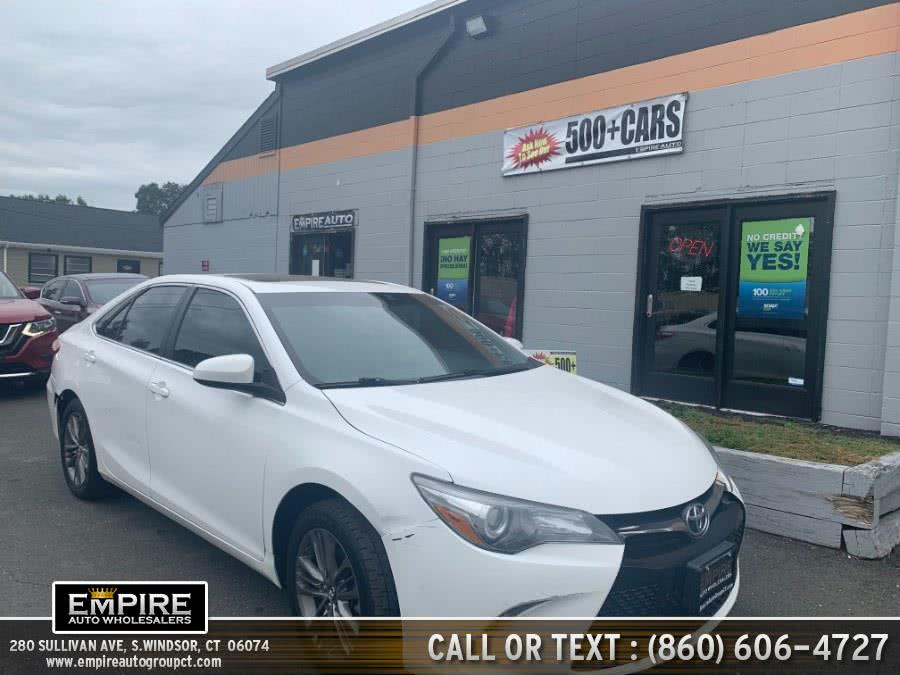 Used Toyota Camry SE Automatic (Natl) 2017 | Empire Auto Wholesalers. S.Windsor, Connecticut