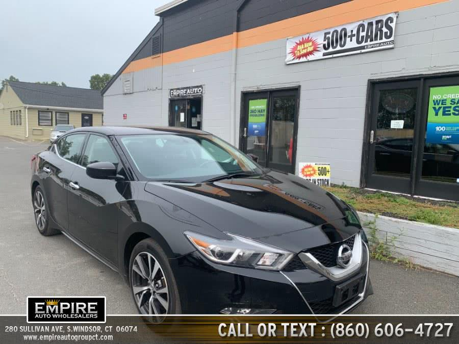 Used Nissan Maxima S 3.5L 2017 | Empire Auto Wholesalers. S.Windsor, Connecticut