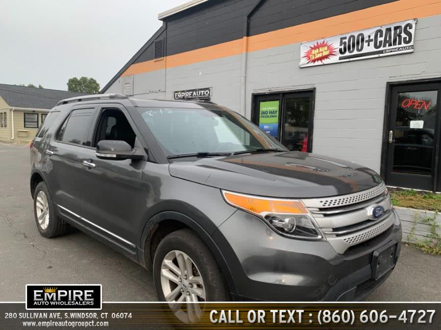 Used Ford Explorer 4WD 4dr XLT 2015 | Empire Auto Wholesalers. S.Windsor, Connecticut