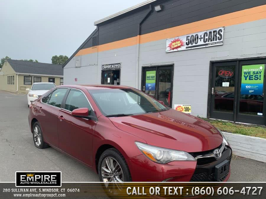 Used Toyota Camry SE 2017 | Empire Auto Wholesalers. S.Windsor, Connecticut