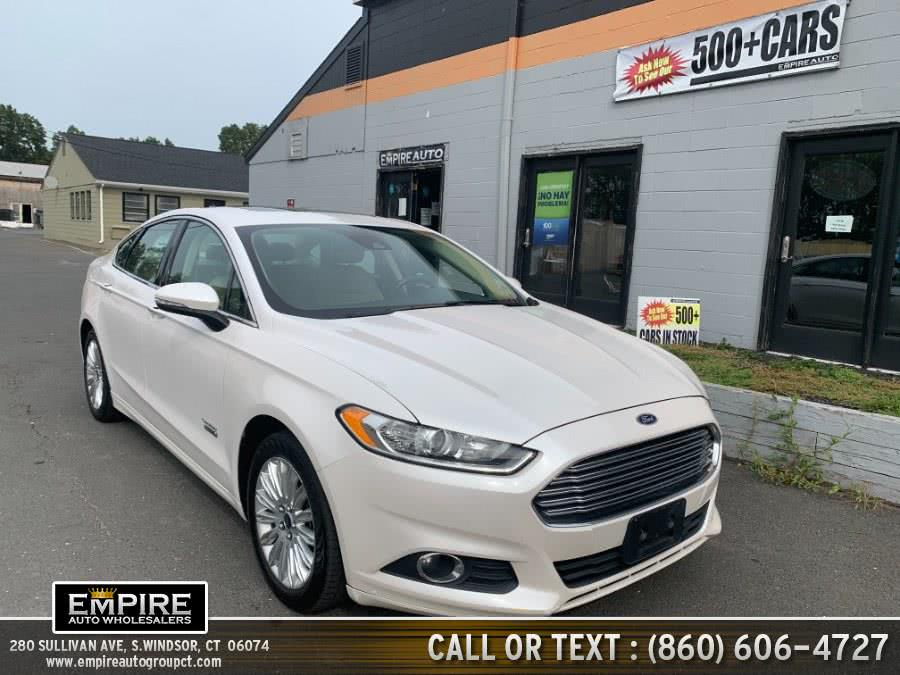 Used Ford Fusion Energi 4dr Sdn SE Luxury 2014 | Empire Auto Wholesalers. S.Windsor, Connecticut