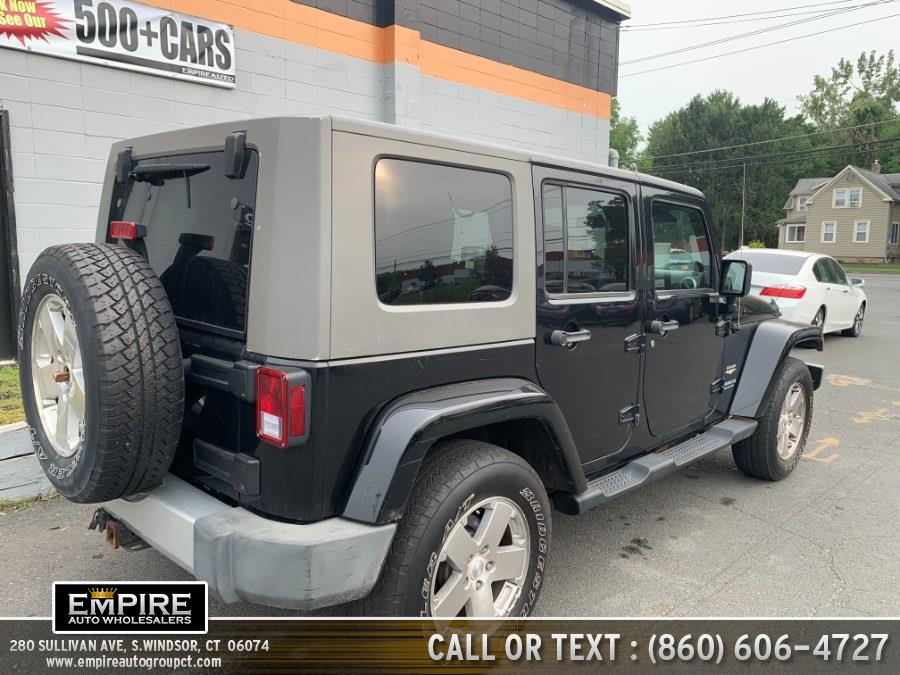 Used Jeep Wrangler Unlimited 4WD 4dr Sahara 2009 | Empire Auto Wholesalers. S.Windsor, Connecticut