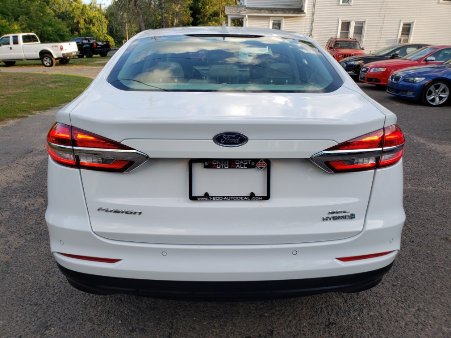 Used Ford Fusion Hybrid SEL FWD Leather Navi 2019   Toro Auto. East Windsor, Connecticut