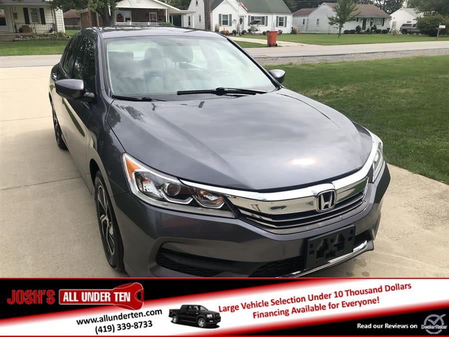 Used 2016 Honda Accord Sedan in Elida, Ohio | Josh's All Under Ten LLC. Elida, Ohio