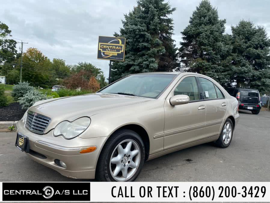 Used Mercedes-Benz C-Class 4dr Sdn 3.2L 4MATIC 2004 | Central A/S LLC. East Windsor, Connecticut