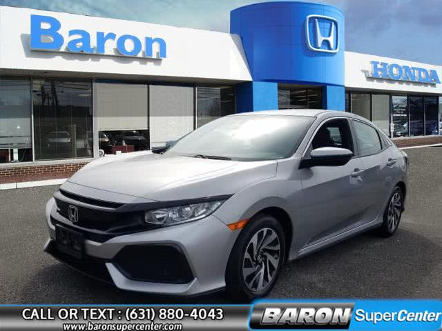 Used 2017 Honda Civic Hatchback in Patchogue, New York | Baron Supercenter. Patchogue, New York