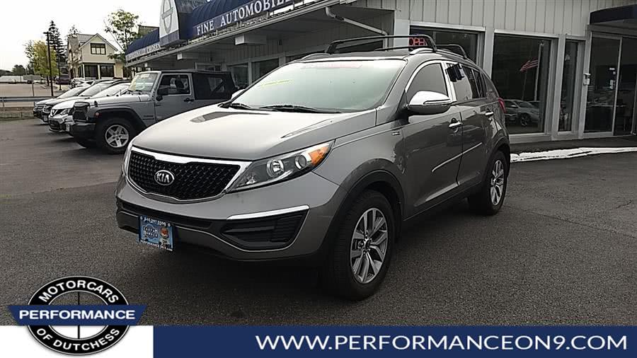Used Kia Sportage AWD 4dr LX 2015 | Performance Motorcars Inc. Wappingers Falls, New York