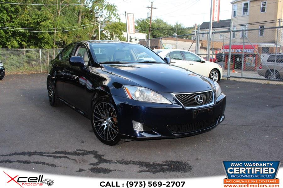Used 2007 Lexus IS 250 AWD in Paterson, New Jersey | Xcell Motors LLC. Paterson, New Jersey