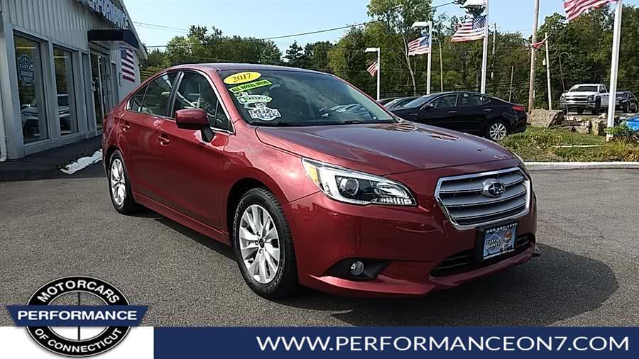 Used Subaru Legacy 2.5i Premium 2017 | Performance Motor Cars. Wilton, Connecticut