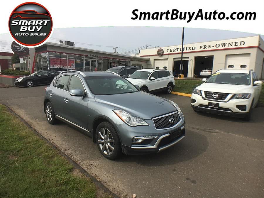 Used INFINITI QX50 AWD 2017   Smart Buy Auto Sales, LLC. Wallingford, Connecticut