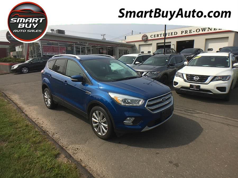 Used Ford Escape Titanium 4WD 2017 | Smart Buy Auto Sales, LLC. Wallingford, Connecticut