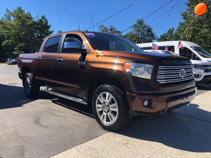 Used Toyota Tundra 4WD Truck CrewMax 5.7L V8 6-Spd AT Platinum (Natl) 2015 | Select Cars Inc. Selden, New York