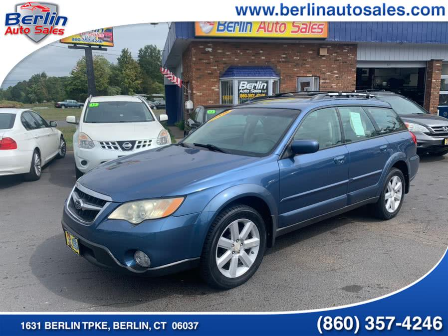 Used Subaru Outback (Natl) 4dr H4 Auto Ltd w/VDC 2008 | Berlin Auto Sales LLC. Berlin, Connecticut