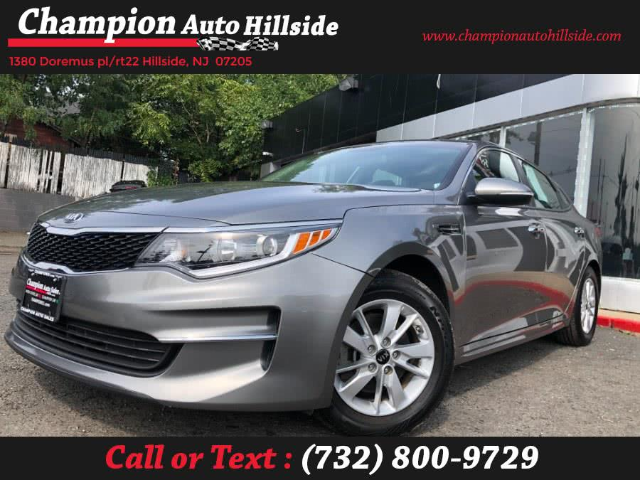 Used 2018 Kia Optima in Hillside, New Jersey | Champion Auto Hillside. Hillside, New Jersey