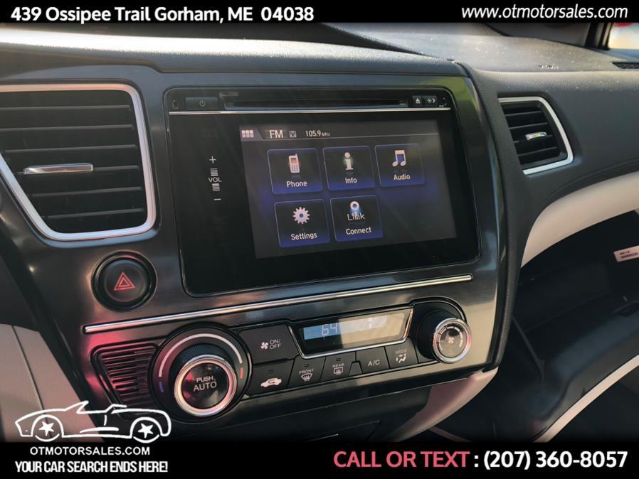 Used Honda Civic Sedan 4dr CVT EX 2014 | Ossipee Trail Motor Sales. Gorham, Maine