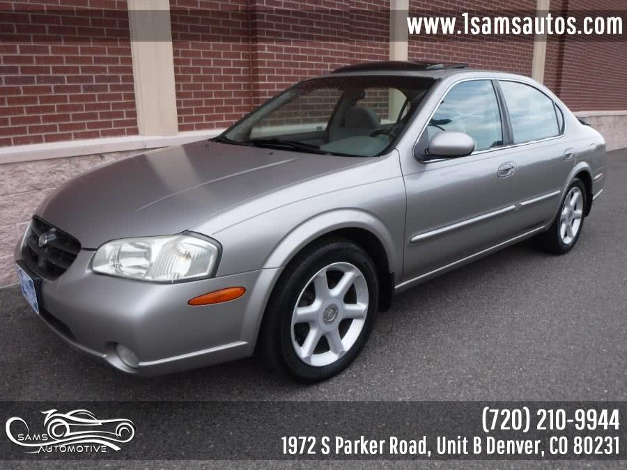 Used 2001 Nissan Maxima in Denver, Colorado | Sam's Automotive. Denver, Colorado