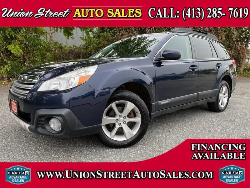 Used Subaru Outback 4dr Wgn H4 Auto 2.5i Limited 2013 | Union Street Auto Sales. West Springfield, Massachusetts