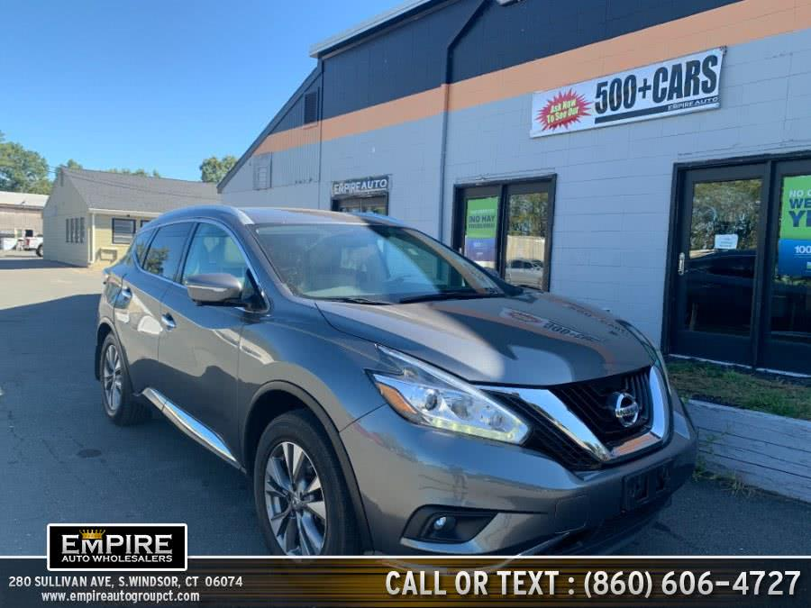 Used 2015 Nissan Murano in S.Windsor, Connecticut | Empire Auto Wholesalers. S.Windsor, Connecticut