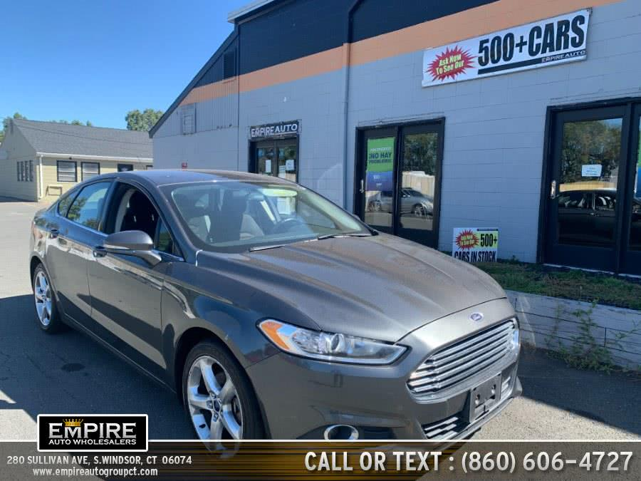 Used Ford Fusion 4dr Sdn SE AWD 2015 | Empire Auto Wholesalers. S.Windsor, Connecticut