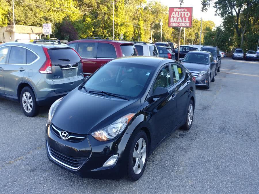 Used 2012 Hyundai Elantra in Chicopee, Massachusetts | Matts Auto Mall LLC. Chicopee, Massachusetts