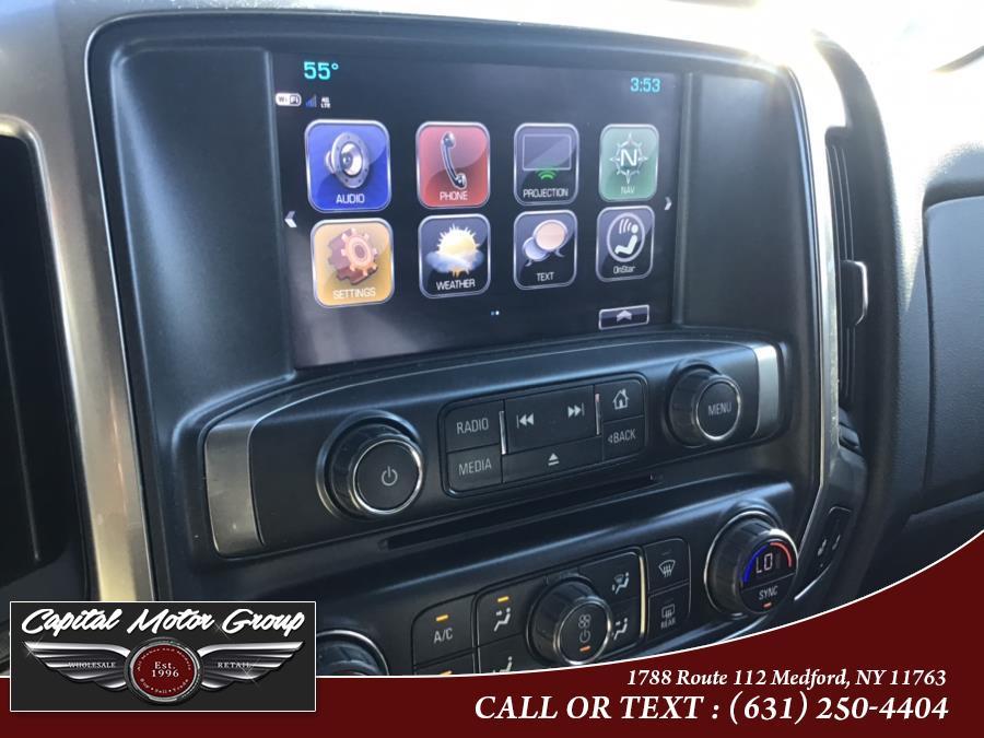 "Used Chevrolet Silverado 1500 4WD Double Cab 143.5"" LT w/1LT 2017 | Capital Motor Group Inc. Medford, New York"