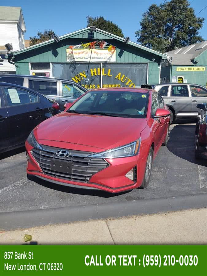 Used 2019 Hyundai Elantra in New London, Connecticut | McAvoy Inc dba Town Hill Auto. New London, Connecticut