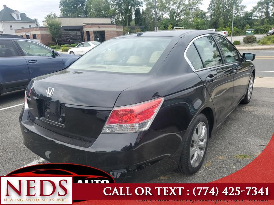 Used Honda Accord Sdn 4dr I4 Auto EX-L w/Navi 2009 | New England Dealer Services. Indian Orchard, Massachusetts