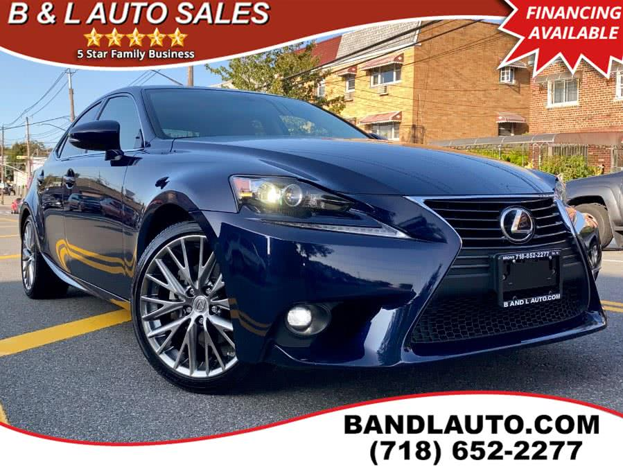 Used 2015 Lexus IS 250 in Bronx, New York | B & L Auto Sales LLC. Bronx, New York
