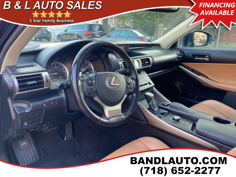 Used Lexus IS 250 4dr Sport Sedan AWD 2015 | B & L Auto Sales LLC. Bronx, New York