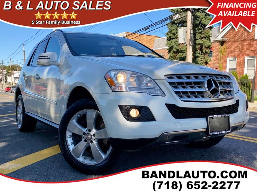 Used Mercedes-Benz M-Class 4MATIC 4dr ML350 2011 | B & L Auto Sales LLC. Bronx, New York