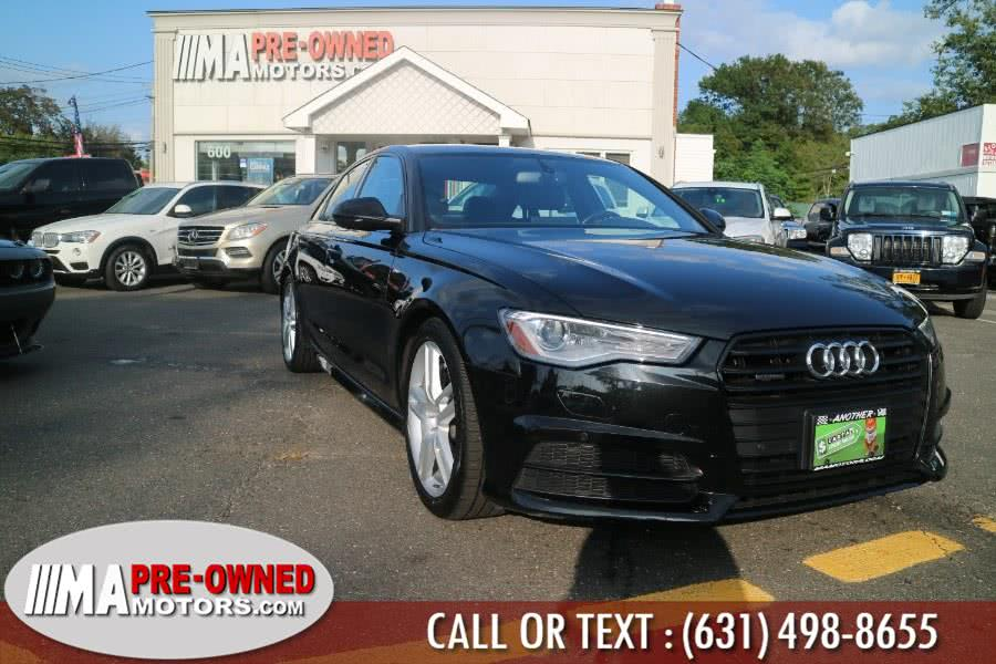 Used 2016 Audi A6 in Huntington, New York | M & A Motors. Huntington, New York