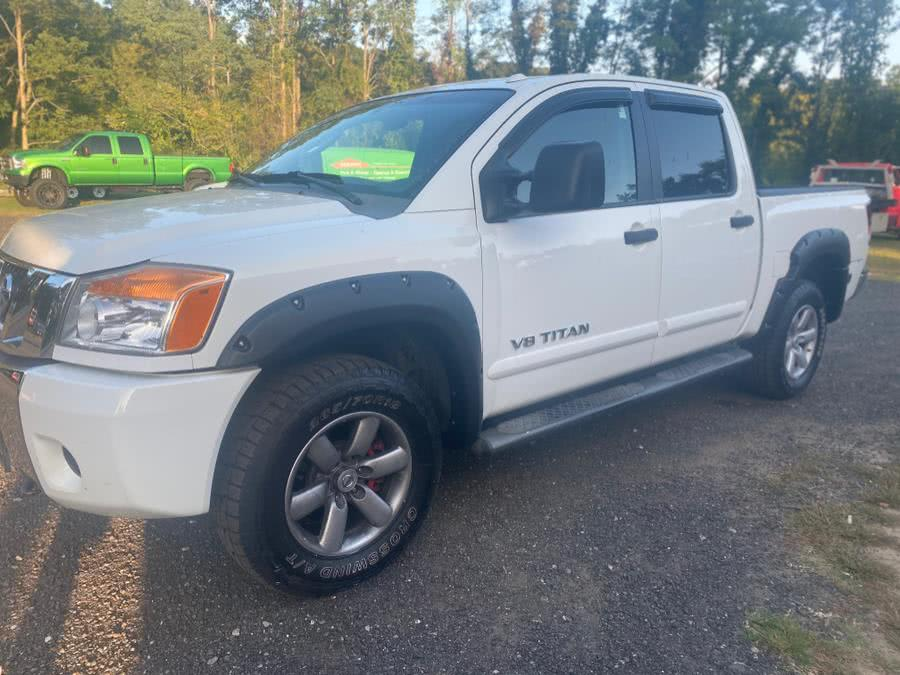 Used Nissan Titan 4WD Crew Cab SWB SE 2008 | VIP on 6 LLC. Hampton, Connecticut