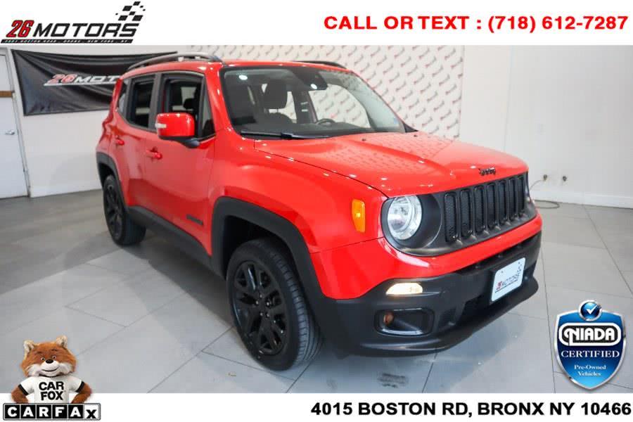 Used Jeep Renegade Latitude 4x4 2017 | 26 Motors Corp. Bronx, New York