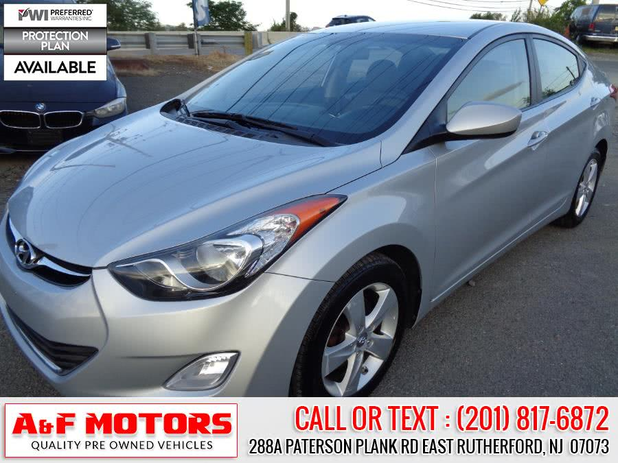 Used 2013 Hyundai Elantra in East Rutherford, New Jersey | A&F Motors LLC. East Rutherford, New Jersey