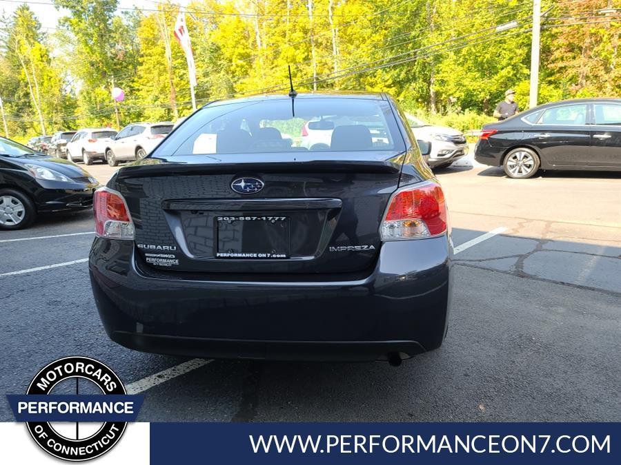 Used Subaru Impreza Sedan 4dr CVT 2.0i Premium 2016 | Performance Motor Cars. Wilton, Connecticut