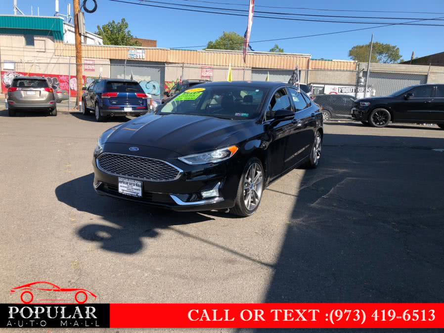 Used 2019 Ford Fusion in Newark , New Jersey | Popular Auto Mall Inc . Newark , New Jersey
