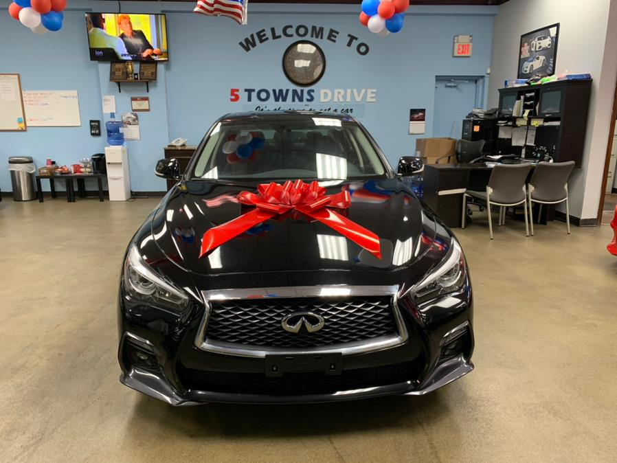 Used INFINITI Q50 SPORT 3.0t LUXE RWD 2018 | 5 Towns Drive. Inwood, New York