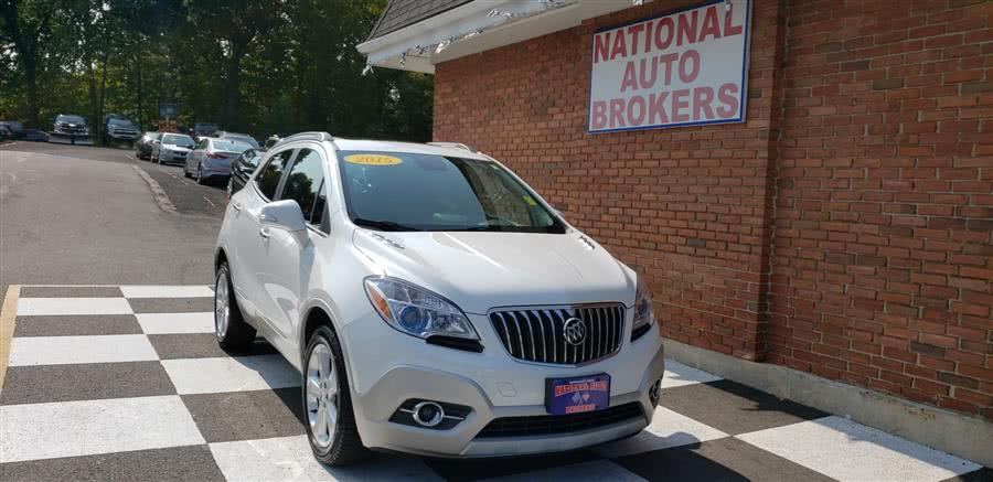 Used 2015 Buick Encore in Waterbury, Connecticut | National Auto Brokers, Inc.. Waterbury, Connecticut
