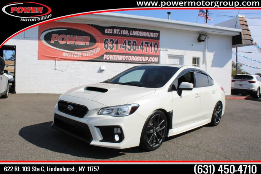 2018 Subaru WRX Premium Manual, available for sale in Lindenhurst , NY
