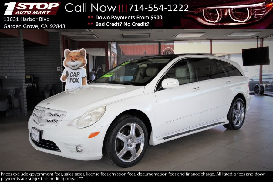 Used Mercedes-Benz R-Class 4MATIC 4dr R 350 2010 | 1 Stop Auto Mart Inc.. Garden Grove, California