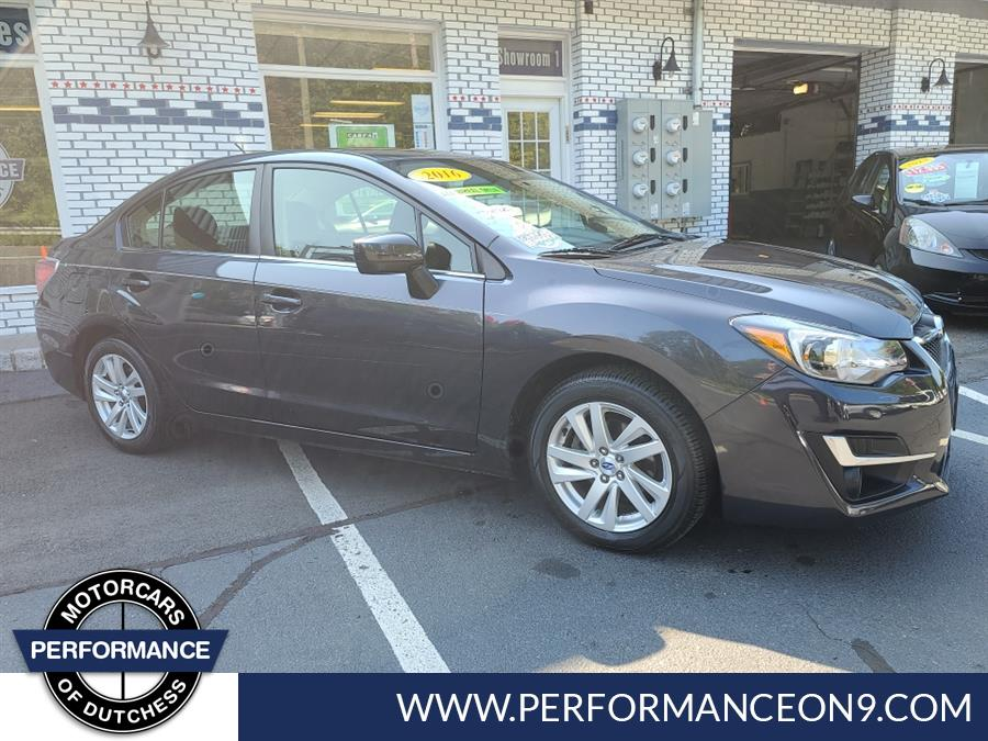 Used Subaru Impreza Sedan 4dr CVT 2.0i Premium 2016 | Performance Motorcars Inc. Wappingers Falls, New York