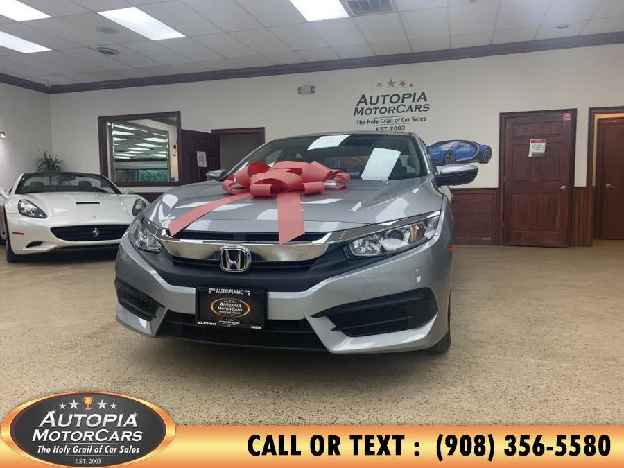 Used Honda Civic Sedan 4dr CVT LX 2016 | Autopia Motorcars Inc. Union, New Jersey