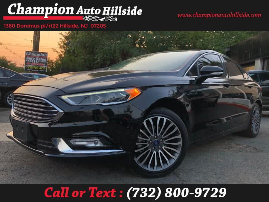 Used 2017 Ford Fusion in Hillside, New Jersey | Champion Auto Hillside. Hillside, New Jersey