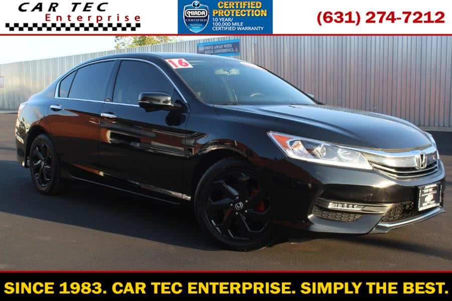 Used 2016 Honda Accord Sedan in Deer Park, New York | Car Tec Enterprise Leasing & Sales LLC. Deer Park, New York