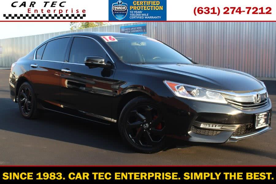 Used Honda Accord Sedan 4dr V6 Auto EX-L 2016 | Car Tec Enterprise Leasing & Sales LLC. Deer Park, New York