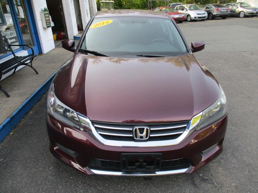 Used Honda Accord Sdn 4dr I4 CVT Sport 2015 | Cos Central Auto. Meriden, Connecticut
