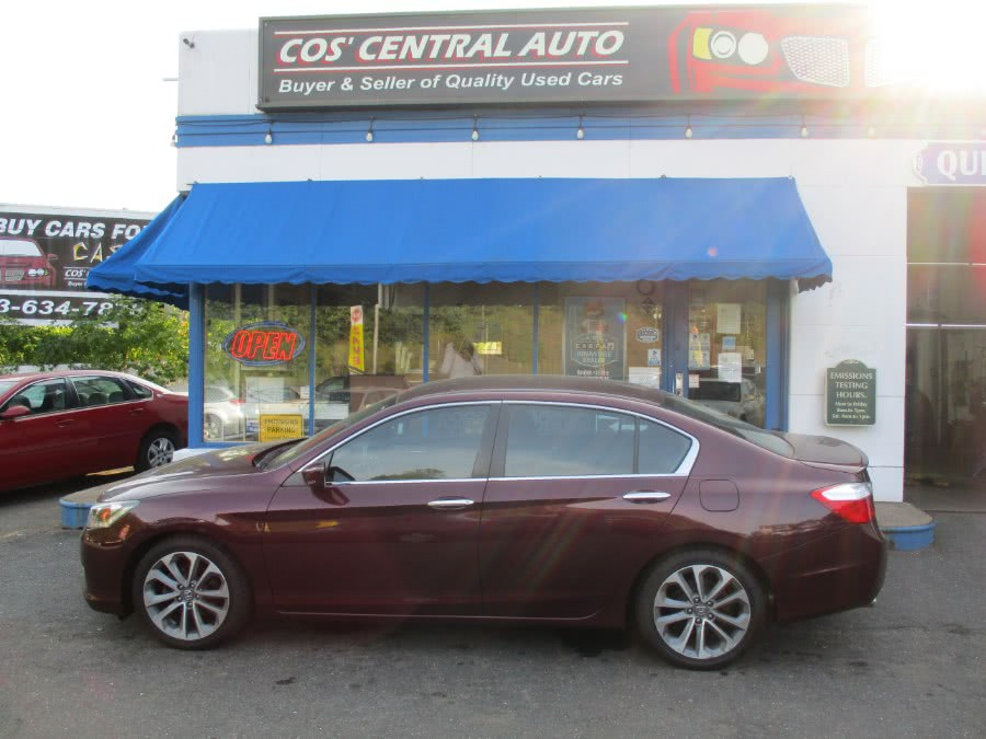 Used Honda Accord Sdn 4dr I4 CVT Sport 2015 | Cos Central Auto. Meriden, Connecticut