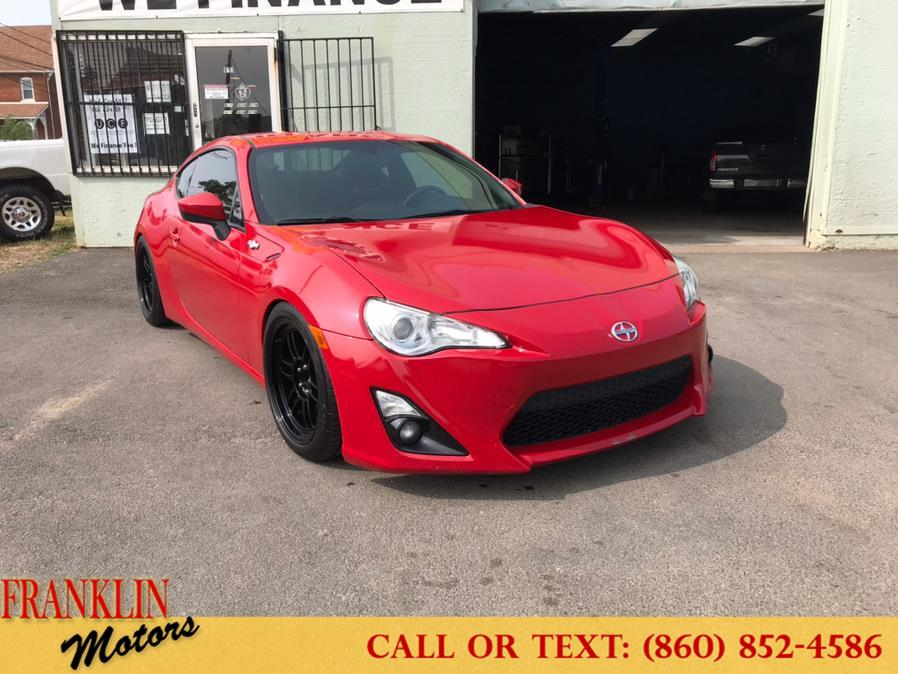 Used 2013 Scion FR-S in Hartford, Connecticut | Franklin Motors Auto Sales LLC. Hartford, Connecticut