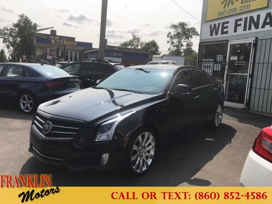Used 2013 Cadillac ATS in Hartford, Connecticut | Franklin Motors Auto Sales LLC. Hartford, Connecticut