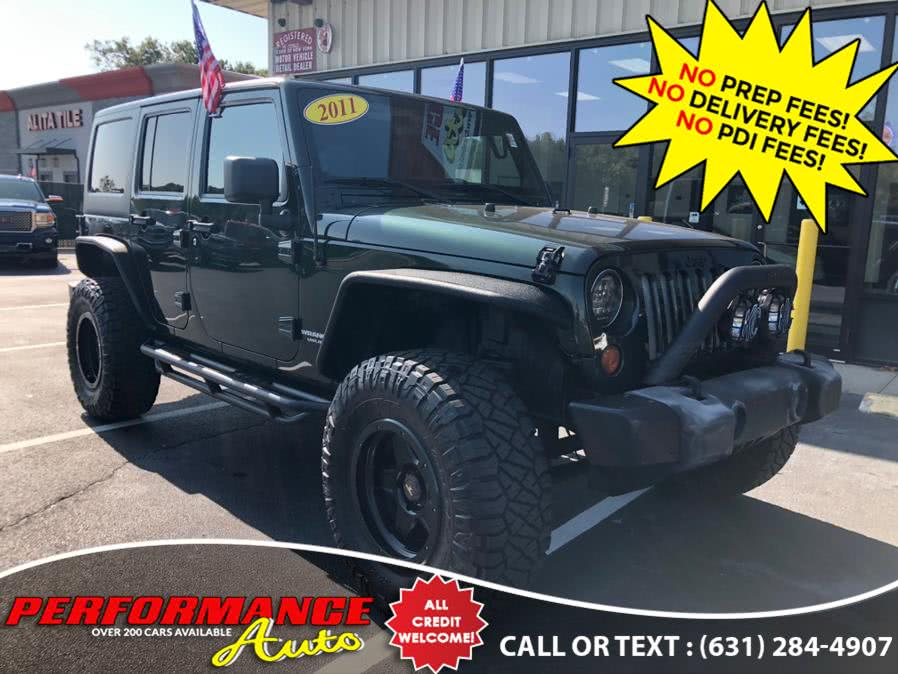 Used Jeep Wrangler Unlimited 4WD 4dr Sport 2011 | Performance Auto Inc. Bohemia, New York